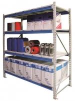 Металлические стеллажи складские (с нагрузкой до 500 кг на полку)