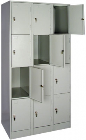 Шкаф металлический для сумок ШРМ - 312 купить на выгодных условиях в Орле