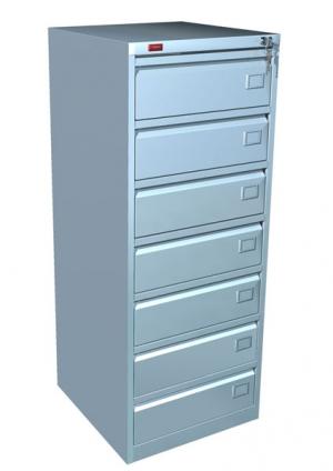 Шкаф металлический картотечный КР - 7 купить на выгодных условиях в Орле
