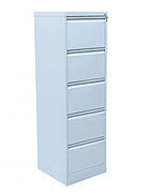 Шкаф металлический картотечный ШК-5 (5 замков) купить на выгодных условиях в Орле