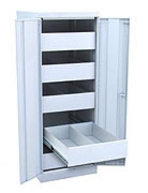 Шкаф металлический картотечный ШК-5-Д2 купить на выгодных условиях в Орле