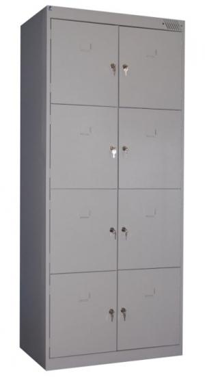 Шкаф металлический для сумок ШРК-28-800 купить на выгодных условиях в Орле