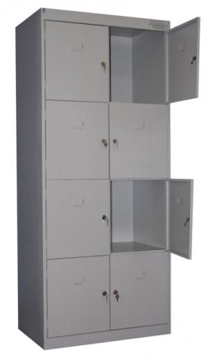 Шкаф металлический для сумок ШРК-28-600 купить на выгодных условиях в Орле
