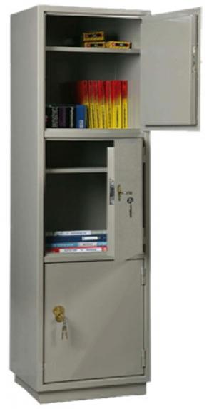 Шкаф металлический бухгалтерский КБ - 033 / КБС - 033