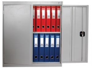 Шкаф металлический архивный ШХА/2-850